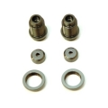 CNC Machined Alum. threaded shock bodies w/alum. collars for Traxxas 4Tec 2.0 (GM) 1 pair
