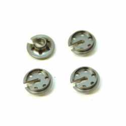 CNC Machined Alum. lower shock spring retainersTraxxas 4Tec 2.0 (4 pcs) GM