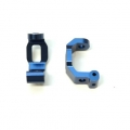 CNC Machined Alum. HD Front Caster Blocks (1 pair) for Traxxas 4Tec 2.0 (Blue)