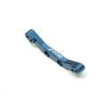 CNC Machined Alum. Front Shock Tower for Traxxas 4Tec 2.0 (Blue)