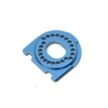 CNC Machined Alum. Motor Mount for Traxxas 4Tec 2.0 (Blue)