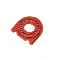 CNC Machined Alum. Motor Mount for Traxxas 4Tec 2.0 (Red)