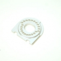 CNC Machined Alum. Motor Mount for Traxxas 4Tec 2.0 (Silver)