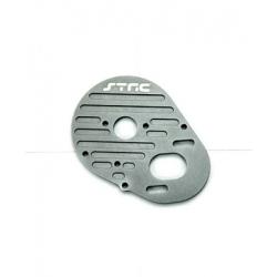 STRC CNC Machined Aluminum Heatsink Motor Plate for SC10, T4 and B4 (GM)