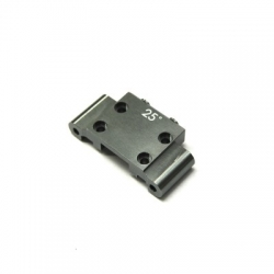 CNC Machined Aluminum Front Bulkhead (25 Deg.) Associated B5, B5M, T5M (GM)