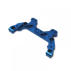 CNC Machined Aluminum Rear Chassis Brace/Camber Link Mount AE B5 (Blue)