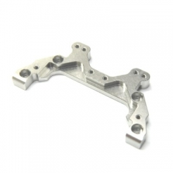 CNC Machined Aluminum Rear Chassis Brace/Camber Link Mount AE B5 (Silver)