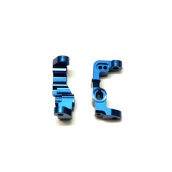 CNC Machined Aluminum Front Caster Block for B5, B5M, T5M (Blue)