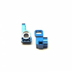 CNC Machined Aluminum Rear Hub Carriers for B5, B5M, T5M (Blue)