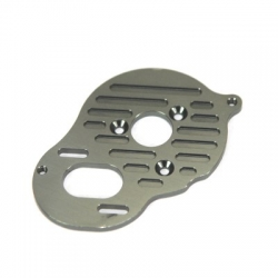 STRC Heatsink Finned CNC Machined Aluminum Motor Plate, Associated B5/B5M/T5M (GM)