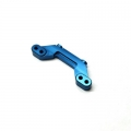 CNC Machined Aluminum Rear Camber Link Mount AE B5M (Blue)