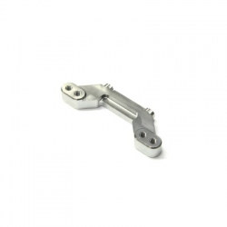 CNC Machined Aluminum Rear Camber Link Mount AE B5M (Silver)