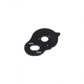 CNC Machined Aluminum 3-Gear Motor Plate for B5M, SC5M, T5M (Black)