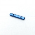 STRC CNC Machined Aluminum Front Hinge-pin Brace for SC10, B4, T4 (Blue)