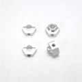 STRC CNC Machined Aluminum Hex Adapters for Associated vehicle (w/inboard front steering knuckle) silver