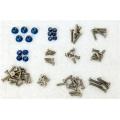 STRC Associated B5M Titanium Screws + Aluminum lock-nut weight reduction kit