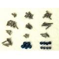 STRC Associated B5 Titanium Screws + Aluminum lock-nut weight reduction kit