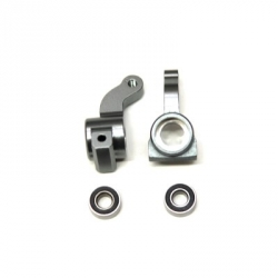 CNC Machined Alum. Front Steering Knuckle w/larger 5x11mm outer bearing (GM) 1 pair