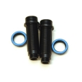 CNC Machined Alum. Threaded Rear shock bodies w/O-ring collar, Granite, Vorteks, Raider, Fury (BK/B)