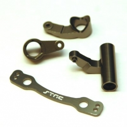 CNC Machined Aluminum Steering Bellcrank set  for Outcast 6S, Limitless/Infraction (GM)