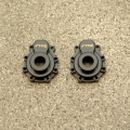 CNC Machined Brass Portal Drive Outer Housing (1 pair) front or rear for Traxxas TRX-4 (BK)