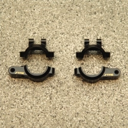 CNC Machined Brass Rear Lower Shock Mount/Suspension link Mount (1 pair, 4 pcs) HPI Venture (BK)