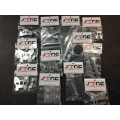 CNC Machined Alum. Option parts package for Hyper 10SC/TT (Silver)