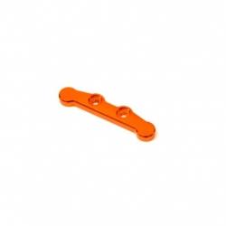 CNC Machined Aluminum Front Hinge-pin brace for Associated DR10 (Orange)