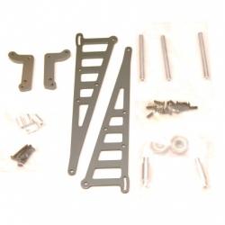 STRC CNC Machined Aluminum Wheelie bar kit for Associated DR10 (GM)