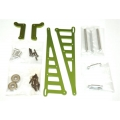 STRC CNC Machined Aluminum Wheelie bar kit for Associated DR10 (Green)