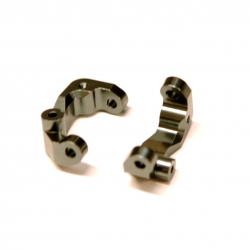 CNC Machined Aluminum Caster Blocks (1 pair) for Associated DR10 (GM)