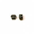 CNC Machined Aluminum Rear Hex Adapters (1 pair) for Associated DR10 (GM)