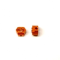 CNC Machined Aluminum Rear Hex Adapters (1 pair) for Associated DR10 (O)