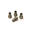 CNC Machined Aluminum Upper shock mount bushing (4 pcs) for Associated DR10 (GM)