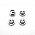 STRC CNC Machined Alum. Shock Spring Retainer (4 pcs) DEX210/ST/SC (Gun Metal)