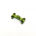 CNC Machined Aluminum HD Front Bumper Mount for EXO Buggy (Green)