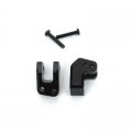 CNC Machined Alum. HD Rear Lower Shock Mounts (1 pair) for EXO Buggy (Black)