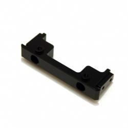 CNC Machined Aluminum Heavy Duty Front Bumper mount for Associated Enduro (Black)