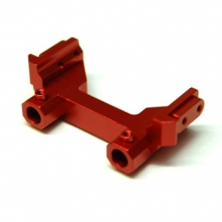 CNC Machined Aluminum Heavy Duty rear bumper mount for Associated Enduro (Red, Limited)