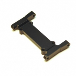 CNC Machined Aluminum Heavy Duty Battery Tray Mount/Front chassis brace for Element Enduro (Black)