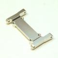 CNC Machined Aluminum Heavy Duty Battery Tray Mount/Front chassis brace for Element Enduro (silver)