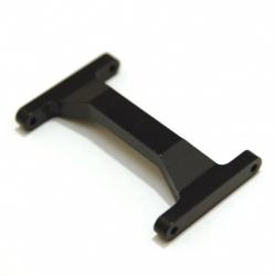 CNC Machined Aluminum Heavy Duty Rear Chassis Brace Associated Enduro (Black)