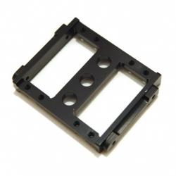 CNC Machined Aluminum Heavy Duty Servo Mount Tray for Associated Enduro (Black)
