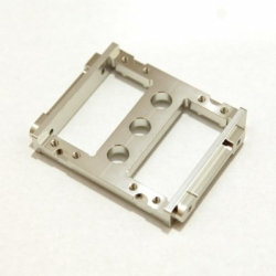 CNC Machined Aluminum Heavy Duty Servo Mount Tray for Associated Enduro (Silver)