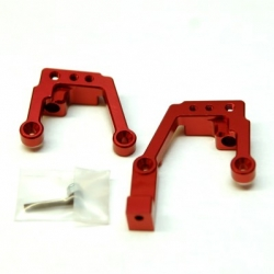 CNC Machined Aluminum Heavy Duty Front Shock Tower w/Panhard Mount Enduro (Red)