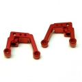 CNC Machined Aluminum Heavy Duty Rear Shock Tower Element Enduro (Red)