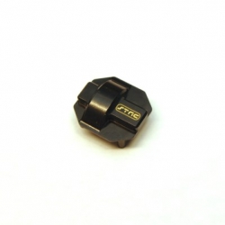 CNC Machined Brass Diff Cover for Element Enduro (Black)