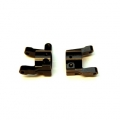 CNC Machined Brass C-hubs for Element Enduro (Black) 1 pair