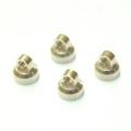 CNC Machined Aluminum upper shock caps for Element Enduro 4pcs (Silver)