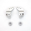 ST Racing Concepts CNC Precision Machined 0.5 deg. toe-in rear hub carriers (w/oversized outer bearings) Silver